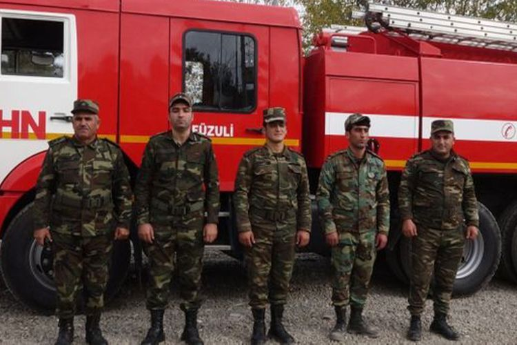 Местные структуры Государственной службы пожарной охраны МЧС приступили к работе на освобожденных от оккупации территориях