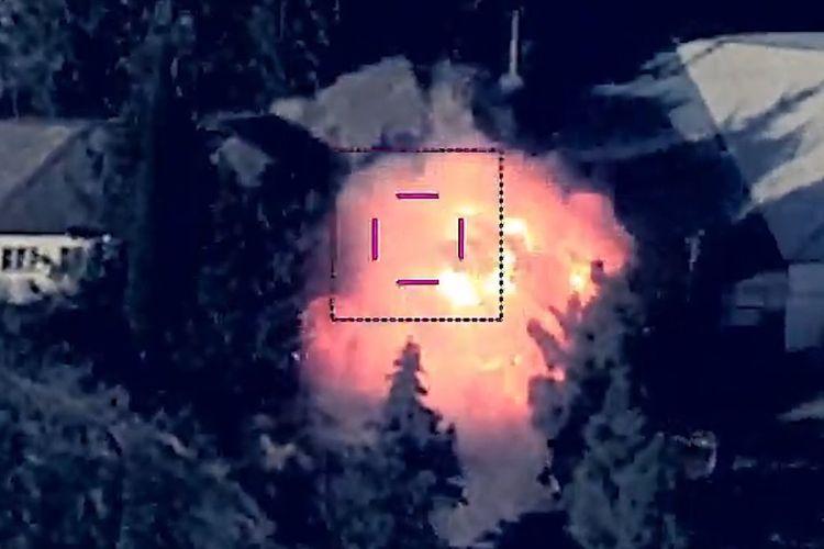 Bayraktar and Harop destroyed Tor - VIDEO