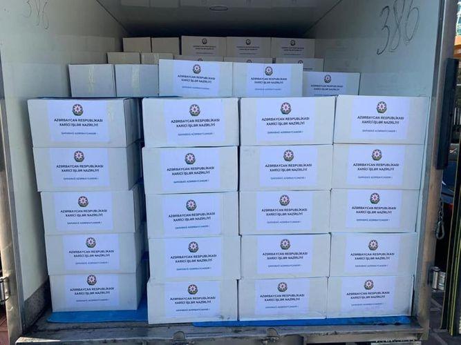 XİN Tərtər və Bərdə rayonlarında yerləşən 500 ailəyə humanitar yardım göstərib