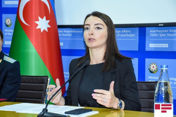 Leyla Abdullayeva responded to Armenian MFA