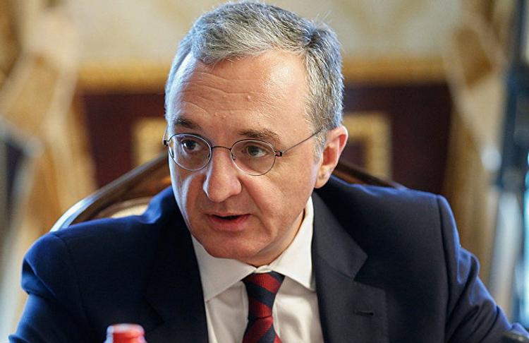 Зограб Мнацаканян подал заявление об уходе с поста главы МИД Армении