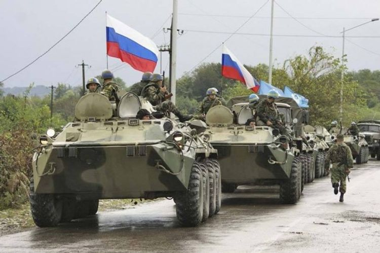Russia started deploying peacekeepers to Nagorno-Karabakh