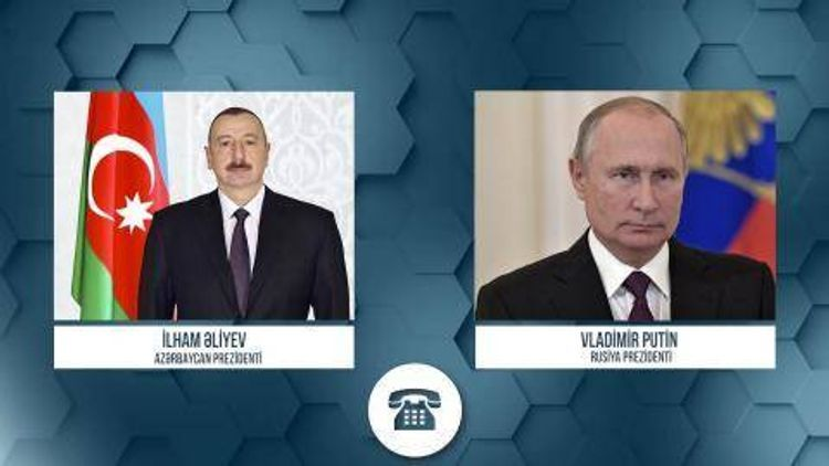 Republic of Azerbaijan Ilham Aliyev made a phone call to President of the Russian