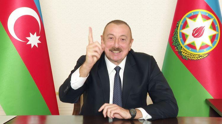 """Prezident İlham Əliyev: """"Biz Azərbaycan xalqının birliyini gördük"""""""