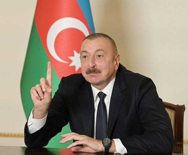 """Azərbaycan Prezidenti: """"Bu günlər ərzində mən gördüm ki, milli məsələlərdə siyasi baxışlarından asılı olmayaraq biz hamımız birləşə bilirik"""""""