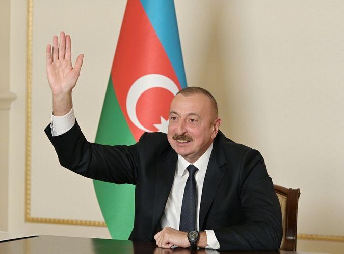 """Prezident: """"Bu müharibə bütün dünyaya Azərbaycan xalqının nə qədər böyük xalq olduğunu göstərdi"""""""