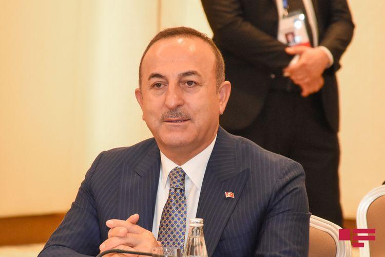 """Çavuşoğlu: """"Güclü Azərbaycan Ordusu işğal altında olan torpaqlarını Ermənistandan tək-tək geri aldı"""""""