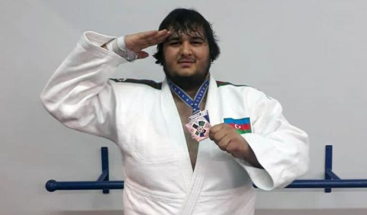 Azərbaycan cüdoçusu Avropa birinciliyində bürünc medal qazanıb