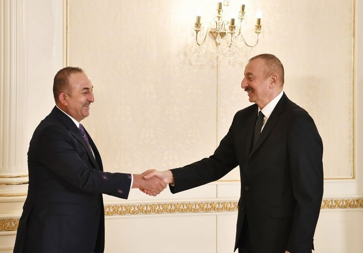 """Mevlut Cavusoglu: """"We are proud of your successes both on the battlefield and diplomatically"""""""