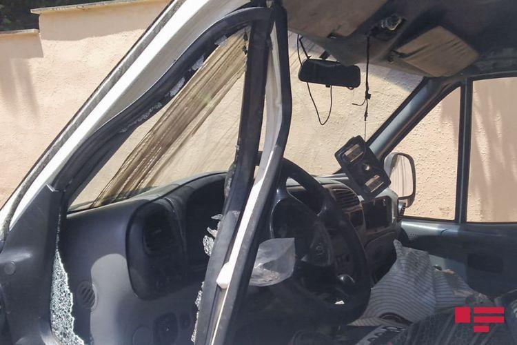 В Гёйчайском районе столкнулись два автомобиля, 4 человека получили травмы