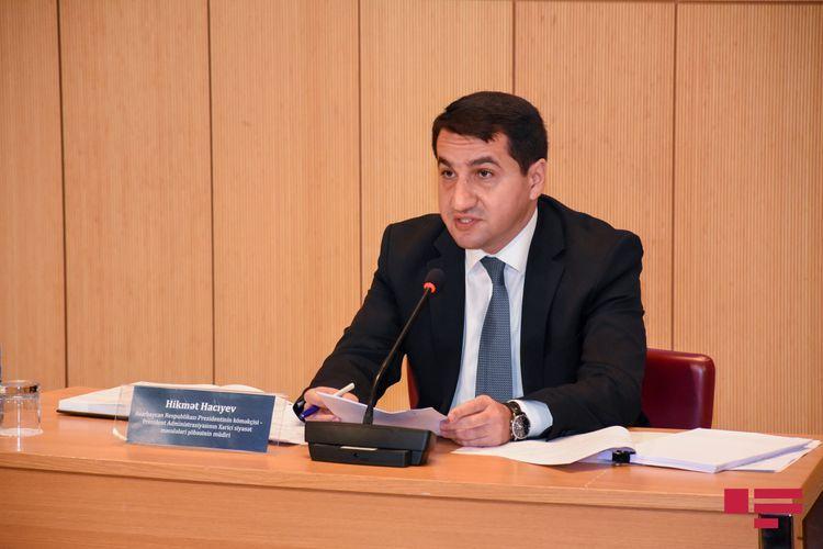 Помощник президента Азербайджана: Франция не уполномочена говорить от имени всех сопредседателей МГ ОБСЕ