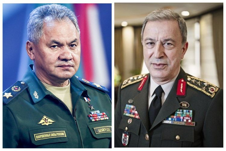 Turkish and Russian Defence Ministers hold phone conversation again