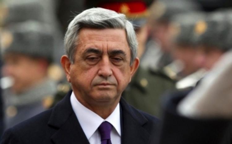 Экс-президента Армении Сержа Саргсяна вызвали в СНБ