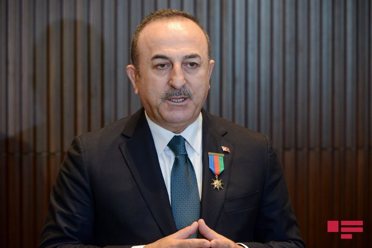 """Turkish FM: """"Remaining lands will be returned to Azerbaijan on basis of submitted time table"""""""