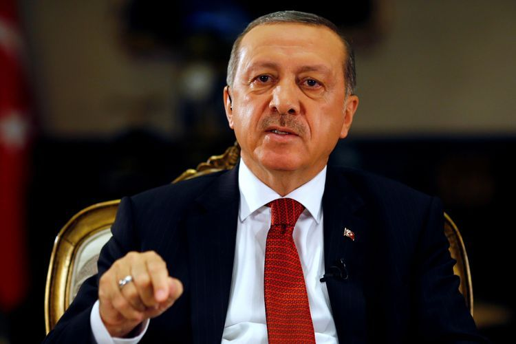 """Erdogan: """"We contributed to the process, which will end the occupation, by standing by Azerbaijani brothers with all of our opportunities and heart"""""""