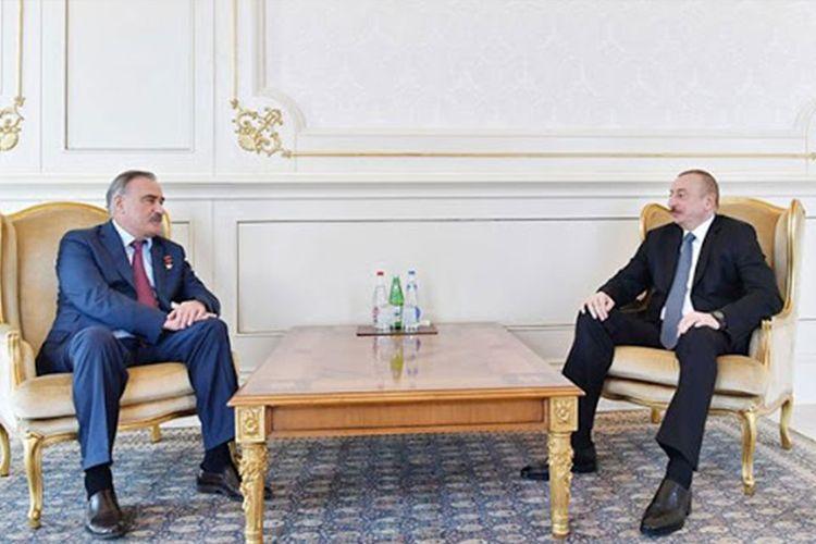 Ruslan Auşev Prezident İlham Əliyevi Qələbə münasibətilə təbrik edib