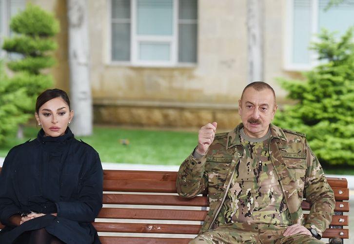 Президент Ильхам Алиев: За эти 44 дня я получил столько звонков, поступило столько сигналов, что остановитесь