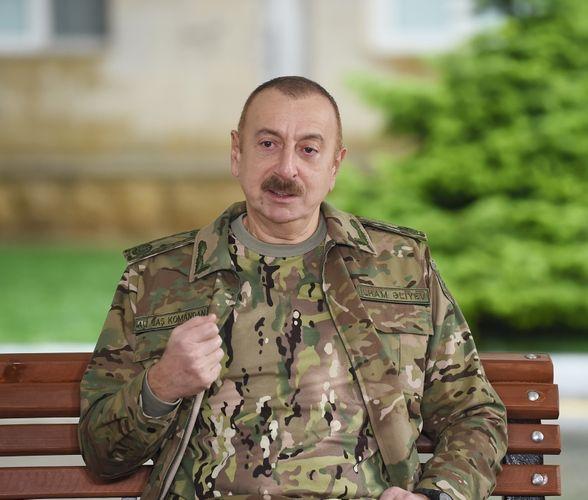 Президент Ильхам Алиев: Первый герой этой победы - азербайджанский солдат