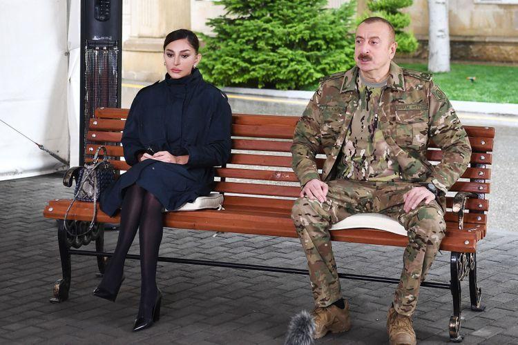 Президент Ильхам Алиев: Будут предприняты особые шаги по обеспечению работой военнослужащих, проявивших героизм, получивших ранение