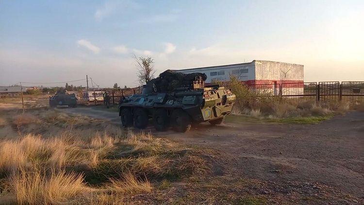 Российские миротворцы совершили 300-километровый марш в Нагорный Карабах