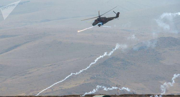 В миротворческой операции в Карабахе задействуют боевые вертолеты