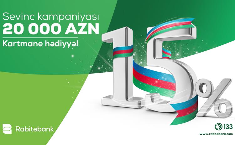 """""""Rabitəbank"""" Qələbə münasibətilə yeni kampaniyaya başlayıb"""