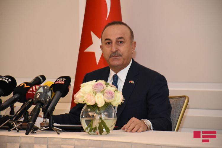 """Cavusoglu: """"Armenia will"""
