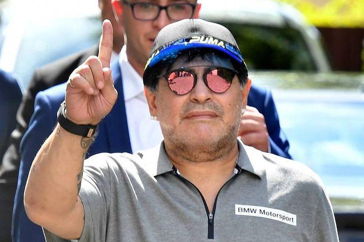 Dieqo Maradona xəstəxanadan evə buraxılıb