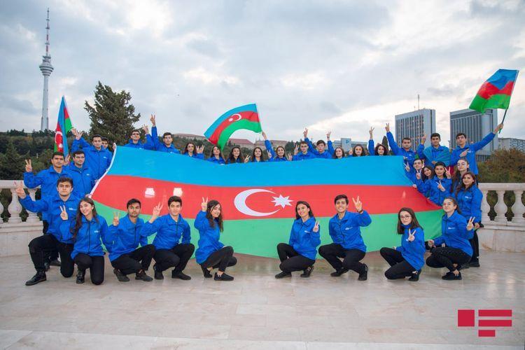 Волонтеры ООРР поблагодарили Верховного главнокомандующего Ильхама Алиева и первого вице-президента Мехрибан Алиеву по случаю победы