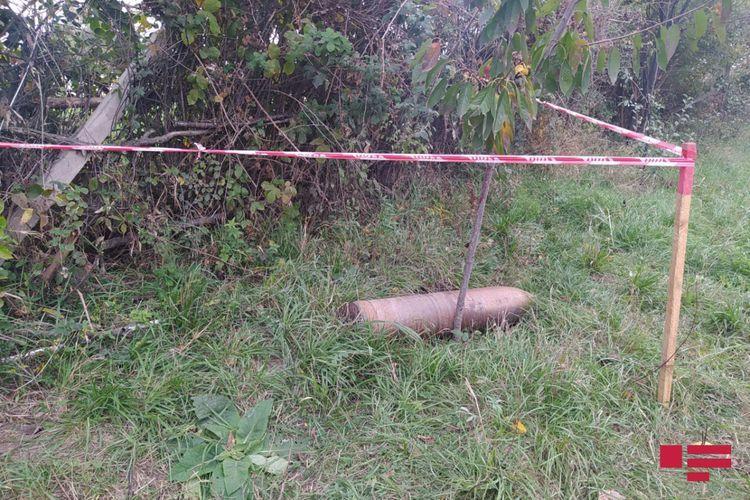 В Агдаме и Агджабеди обезвреживаются неразорвавшиеся боеприпасы