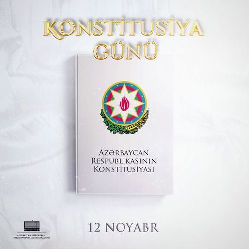 Azerbaijani President shares post on Constitution Day