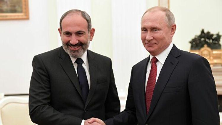Putinlə Paşinyan və Lavrovla Mnatsakanyan arasında telefon danışığı olub