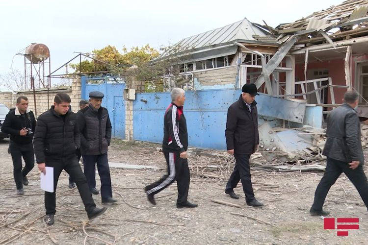 Assessment of damage to population along the frontline zone started
