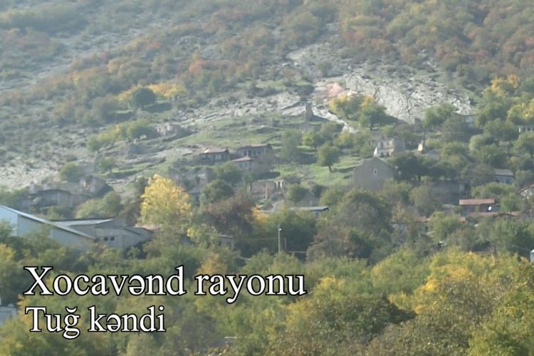 Video coverage of the liberated from occupation Tug village of Khojavend region - VIDEOREPORT