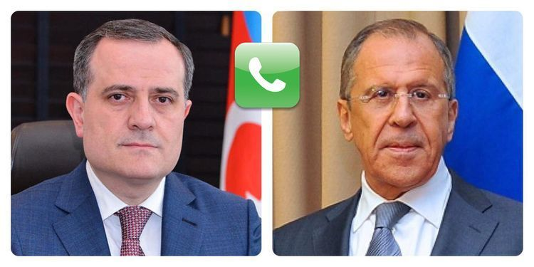 Minister of Foreign Affairs of Azerbaijan Jeyhun Bayramov had a phone conversation with FM of the Russian Federation Sergey Lavrov