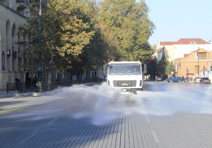 В Баку будут проведены дезинфекционные работы