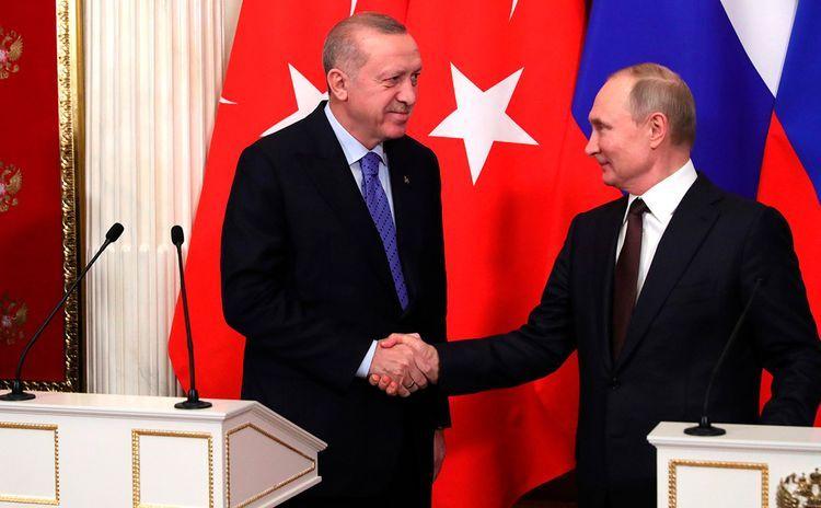 Кремль: Путин и Эрдоган постоянно находятся в диалоге