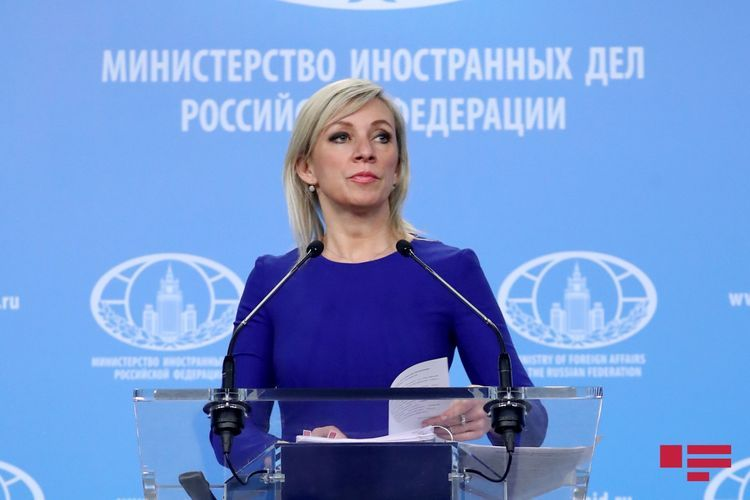 """Zakharova: """"We are in close contact with Azerbaijan in order to obtain observer status in NaM"""""""