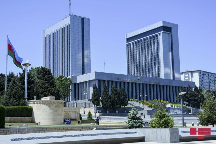 Azerbaijani Parliament discusses naming Gushchubaba village of Khojaly region as Baharli and Tsakuri village of Khojavend as Hunarli