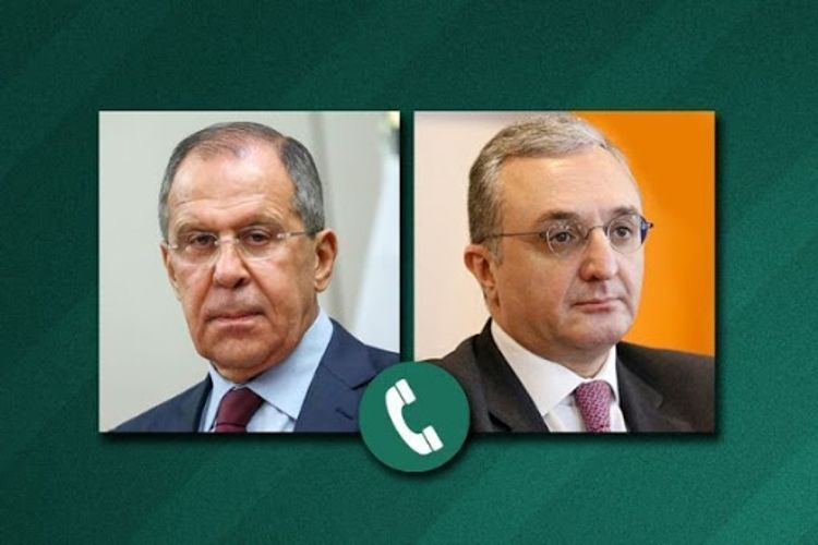 Russian and Armenian FMs discuss implementation situation of Nagorno Karabakh agreement