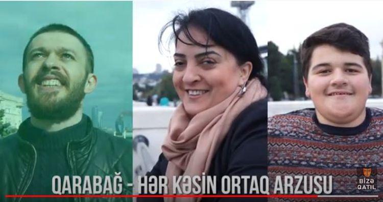 """ƏSA Teatrı """"Qarabağ – hər kəsin ortaq arzusu"""" adlı videoçarx hazırlayıb"""