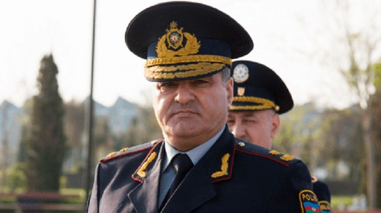 Chief of Baku City Main Police Department dismissed from his post