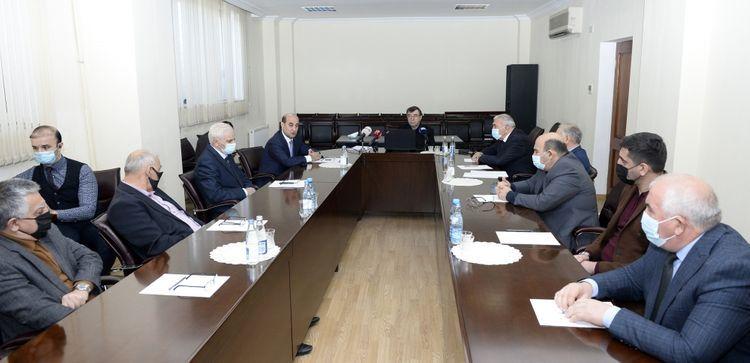 Возобновлена деятельность Губадлинского управления ирригационных систем