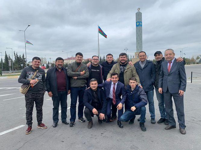 Группа казахстанских политологов, экспертов и журналистов посетила Гянджу и Барду - ФОТО
