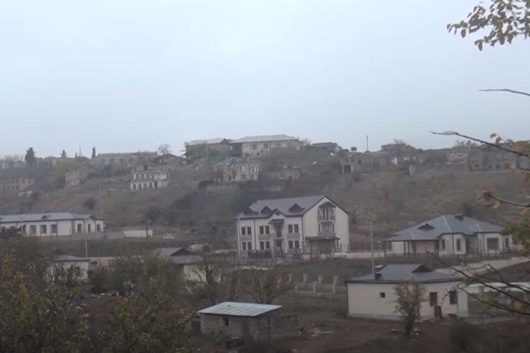 Tərtər rayonunun işğaldan azad olunan Talış kəndindən VİDEOREPORTAJ