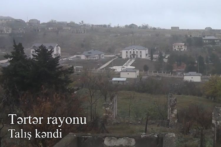 Ministry of Defense releases new video coverage of the liberated from occupation Talish village of Terter region - VIDEO