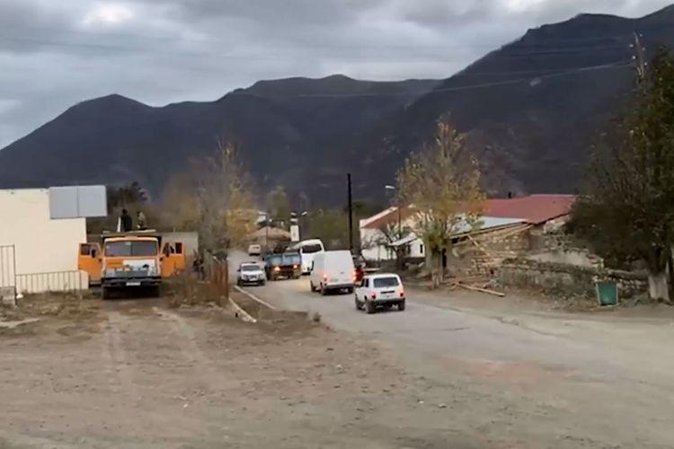 Armenians are leaving Kalbajar - VIDEO