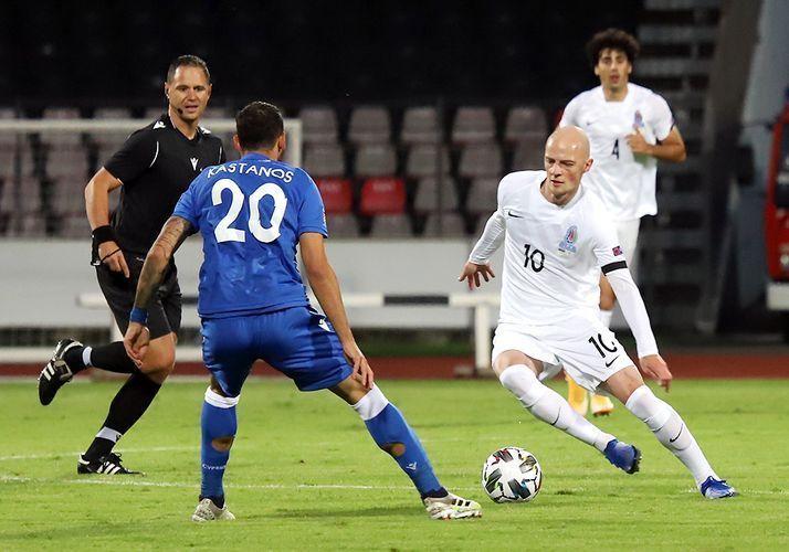 Сборные Азербайджана и Черногории по футболу сыграли вничью в Лиге Наций