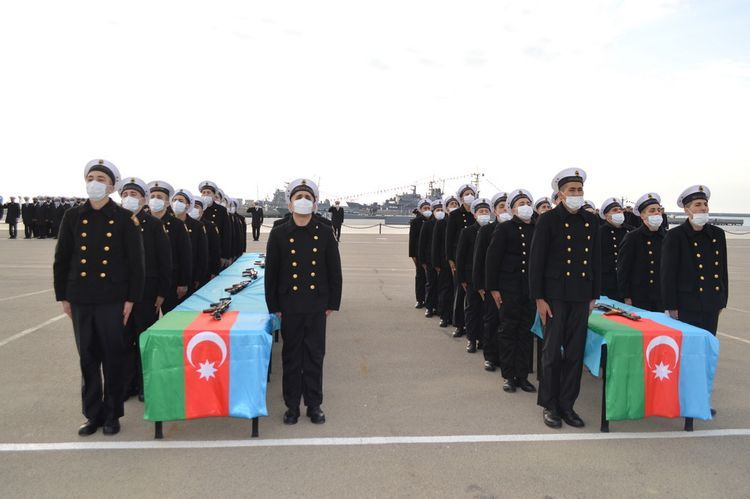 В ВМС состоялась церемония принятия военной присяги - ФОТО