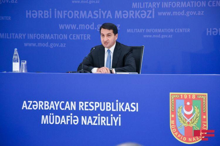 """Hikmet Hajiyev: """"Armenia"""